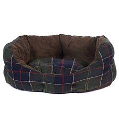 Barbour Luxury Dog Bed Classic Tartan