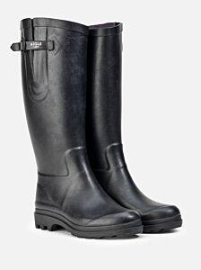 Aigle Women's Aiglentine Wellington Boot Noir