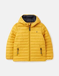 Joules Cairn Packable Padded Jacket Antique Gold