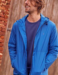 Joules Arlow Lightweight Waterpoof Jacket Blue