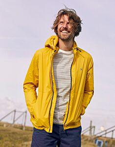 Joules Arlow Lightweight Waterproof Jacket Yellow