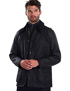 Barbour Ashby Wax Jacket Black