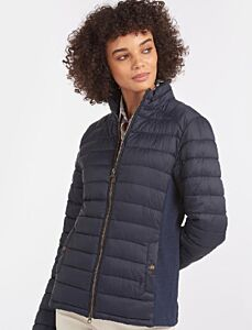 Barbour Ashridge Quilt Jacket Navy