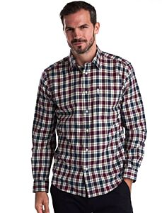 Barbour Astwell Shirt Merlot Clearance