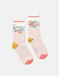 Joules Brilliant Bamboo Socks St Ives Stripe