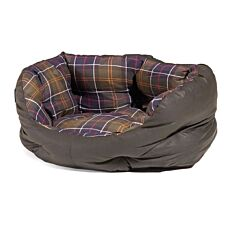 Barbour Wax/Cotton Dog Bed Classic/Olive