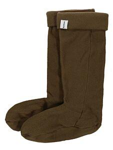 Barbour Fleece Wellington Socks Olive