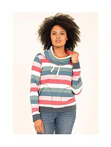 Brakeburn Cowl Neck Sweater Multi