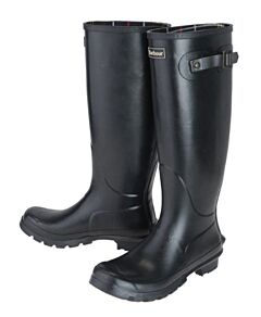 Barbour Womens Bede Wellingtons Black