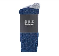 Barbour Houghton Socks Navy/Grey