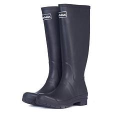 Barbour Abbey Wellington Boots Black