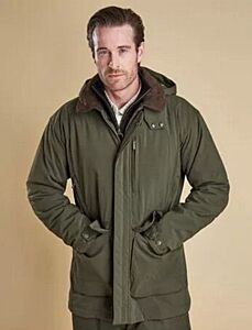 Barbour Bransdale Waterproof Jacket Forest Green