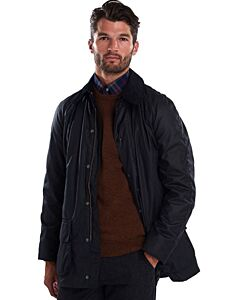 Barbour Bristol Wax Jacket Navy
