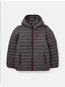 Joules Cairn Packable Padded Jacket Grey Marl