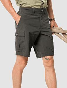 Jack Wolfskin Men's Canyon Cargo Shorts Dark Moss