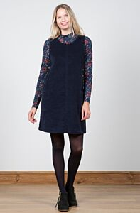 Lily and Me Carrie Dress Plain Navy