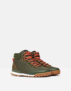 Joules Chedworth Waterproof Hiker Boot Khaki