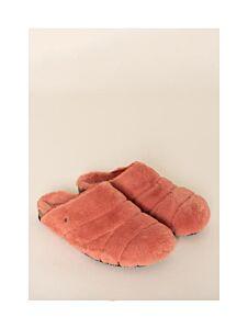 Brakeburn Fluffy Slippers Coral