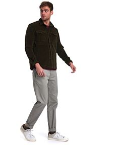 Barbour Cord Over Shirt Olive