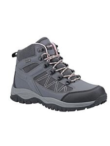 Cotswold Maisemore Hiking Boots Grey/Pink