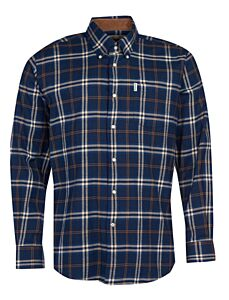 Barbour Country Check 20 Regular Fit Shirt Blue