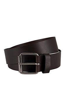 Timberland Men's Leather Belt Dark Brown
