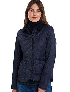 Barbour Deveron Polarquilt Jacket Navy/Navy