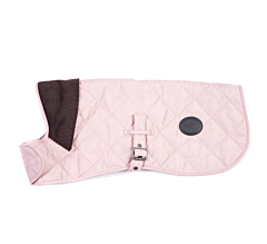 Barbour Quilted Dog Coat Pink