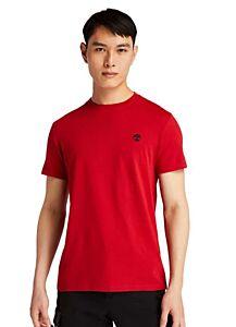 Timberland Short Sleeve Dunstan River Crew T-Shirt Scarlet Sage