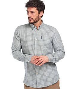 Barbour Eco 4 Tailored Shirt Grey Marl