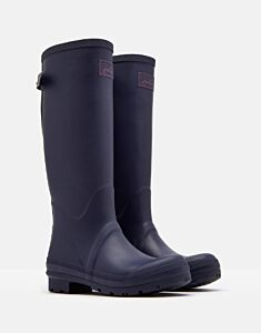 Joules Field Wellies with Adjustable Back Gusset French Navy