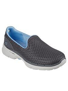Skechers Go Walk 6 Big Splash Grey/Blue