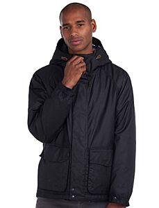 Barbour Grendle Waxed Cotton Jacket Black