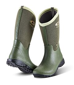 Grubs Tideline Wellington Boot Green