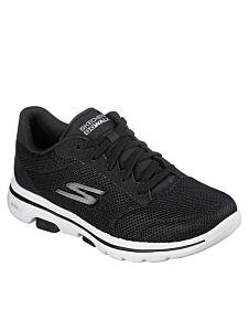 Skechers Go Walk 5 Lucky Black/White