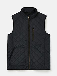 Joules Halesworth Quilted Gilet Marine Navy