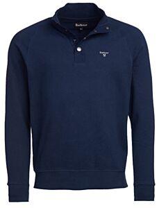 Barbour Half Zip Sweatshirt Navy