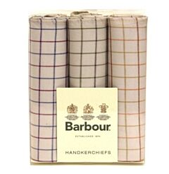 Barbour Handkerchief Boxed Set Tattersall (TA31)