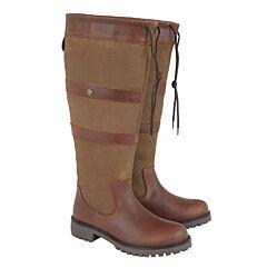 Cabotswood Highgrove Wide Fit Boots Chestnut/Bison