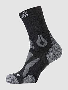Jack Wolfskin Hiking Pro Classic Cut Socks Dark Grey