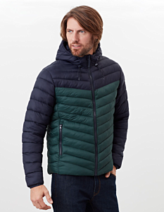 Joules Hooded Go To Padded Jacket Green
