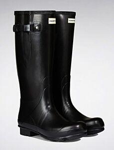 Hunter Men's Norris Side Adjust Neoprene Boot Black