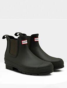Hunter Men's Original Chelsea Boots Olive