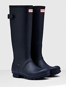 Hunter Women's Back Adjustable Boot Navy