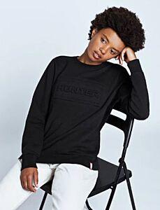 Hunter Women's Original Logo Sweatshirt Black