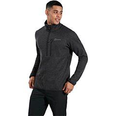 Berghaus Men's Carnell Half Zip Fleece Black