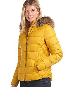 Barbour Irving Quilted Jacket Golden