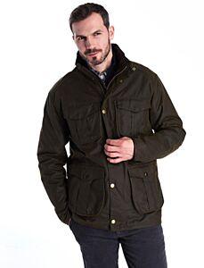 Barbour Latrigg Waxed Jacket Olive