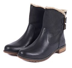 Barbour Jessica Ankle Height Boots Black