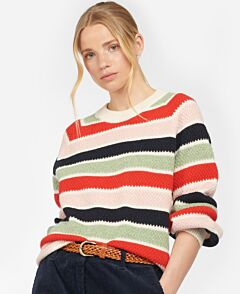 Barbour Woman's Collywell Knit Jumper Multi